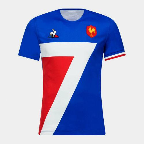 France 2018/2019 Sevens Men's Home Rugby Jersey