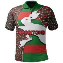 South Sydney Rabbitohs 2020 Mens Football Polo Shirt