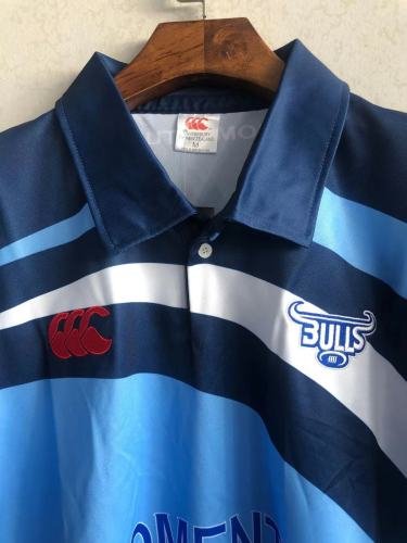 Bulls 2003 Super 12 Men's Home Retro Rugby Jersey
