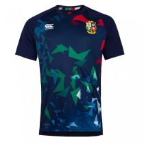 British And Irish Lions 2020 Mens Navy Graphic Rugby Jersey