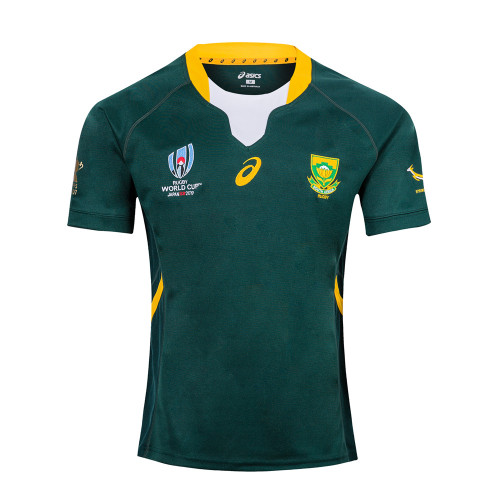 South Africa Springboks 2019 Rugby World Cup Home Jersey