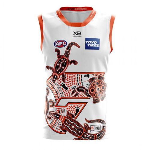 GWS Giants 2020 Men's Indigenous Football Guernsey