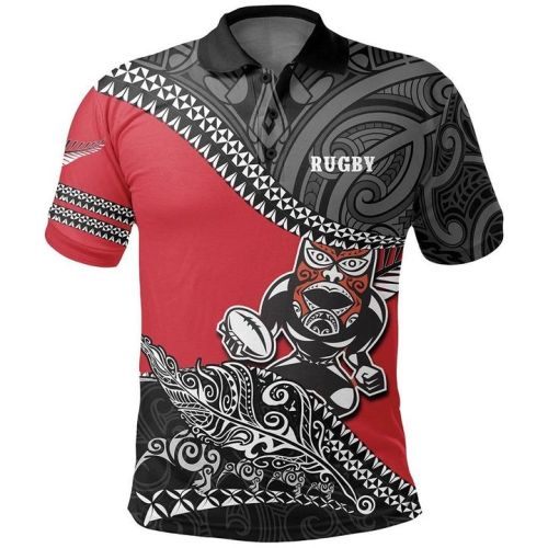 Māori All Blacks 2020 Mens Football Polo Shirt