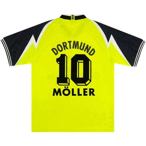 Borussia Dortmund 1995/96 Moller Home Retro Jersey