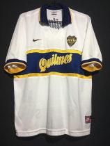Boca Juniors 1996-97 Away Retro Soccer Jersey