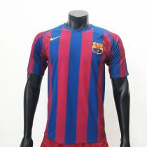 Barcelona 2005/2006 Home Retro Soccer Jerseys