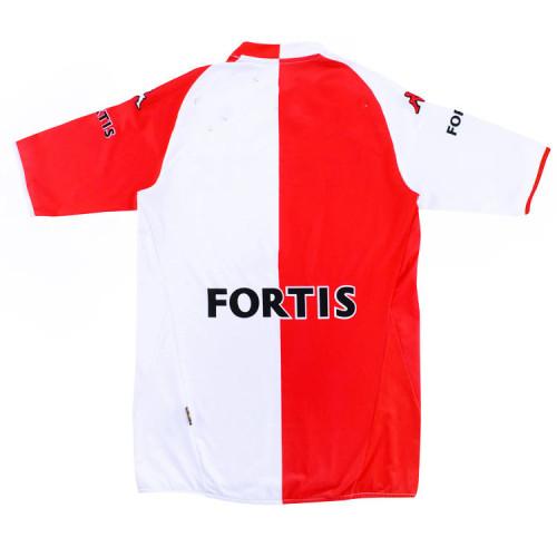 Feyenoord 2007-08 Home Retro Soccer Jersey