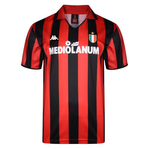 AC Milan 1988-89 Home Retro Soccer Jersey