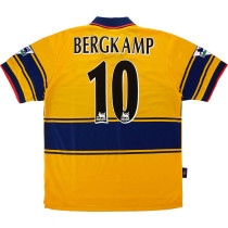 ARS 1997-99 Bergkamp Away Retro Jersey