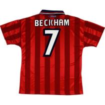 England 1998 Beckham Away Retro Jersey