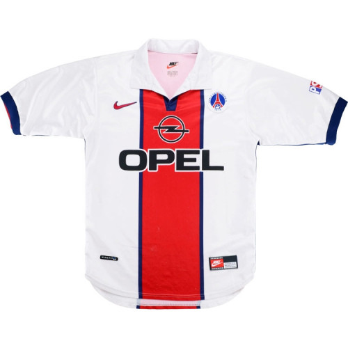 PSG 1998-99 Away Retro Soccer Jersey