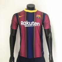 Thai Version Barcelona 20/21 Home Soccer Jersey