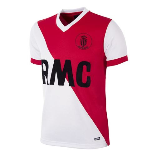 AS Monaco 1982-84 Home Retro Soccer Jersey