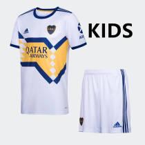 Boca Juniors 2020 Kids Away Soccer Jersey and Short Kit