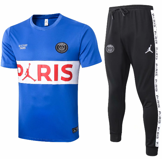 Paris Saint-Germain 20/21 Training Jersey and Pants - C413