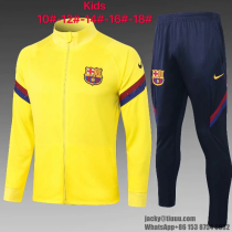 Barcelona 20/21 Kids Jacket and Pants - E449