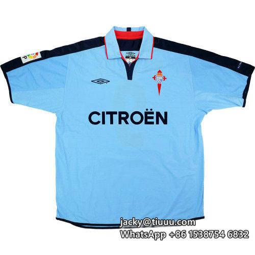 Celta Vigo 2002-04 Home Retro Jersey