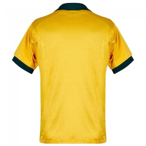 Brazil 1988-91 Home Retro Soccer Jersey