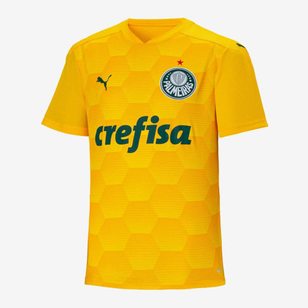 Thai Version Palmeiras 20/21 Training Jersey - Yellow