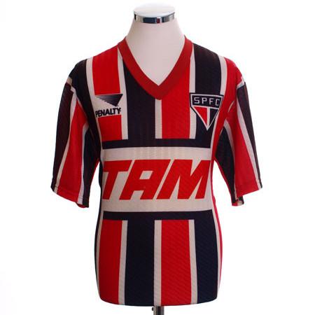Sao Paulo 1993 Retro Away Soccer Jersey