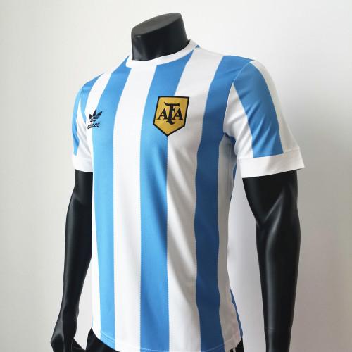 Argentina 1978 Home Retro Soccer Jerseys