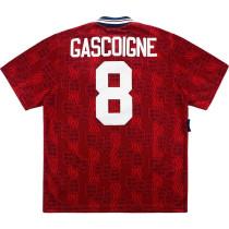 England 1994-95 Gascoigne Away Retro Jersey