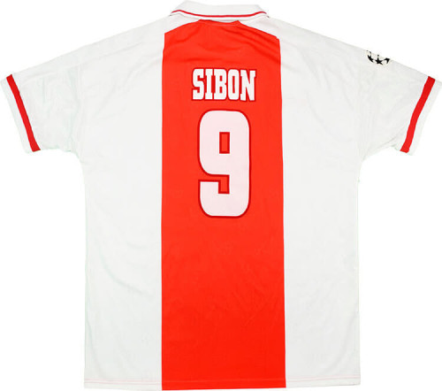 Ajax 1998-99 Sibon UCL Home Retro Jersey