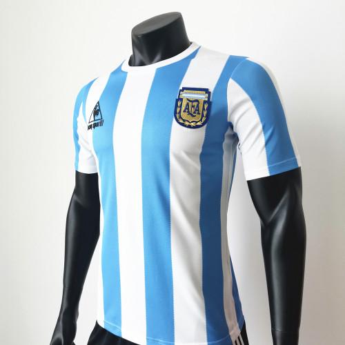 Argentina 1986 Home Retro Soccer Jerseys