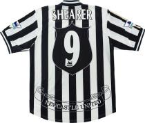 Newcastle United 1997/1999 Shearer Home Retro Jerseys