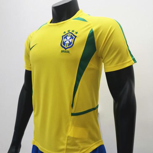 Brazil 2002/2004 Home Retro Soccer Jerseys