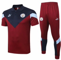 Manchester City 20/21 Training Polo and Pants - C443