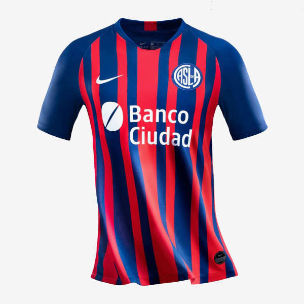 Thai Version San Lorenzo 20/21 Home Soccer Jersey