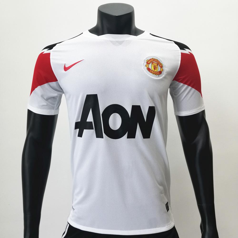 Manchester United 2010/2011 Away Retro Soccer Jerseys