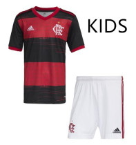 Flamengo 20/21 Kids Home Soccer Jersey and Short Kit