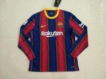 Thai Version Barcelona 20/21 LS Home Soccer Jersey