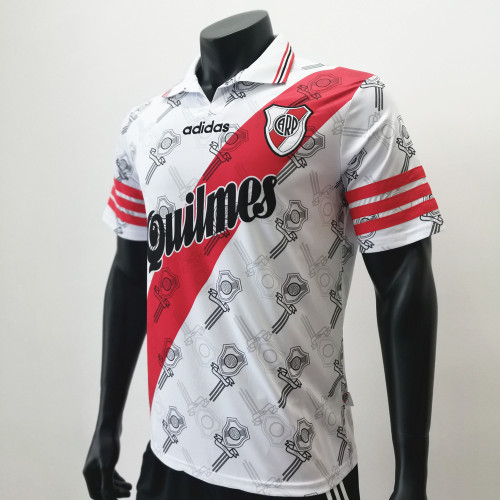 River Plate 1996/1998 Home Retro Soccer Jerseys