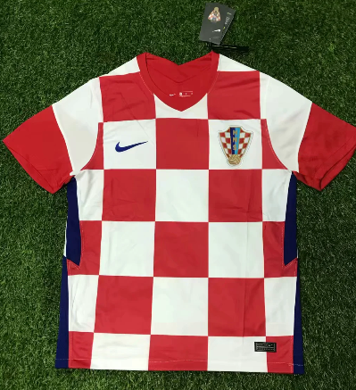 Thai Version Croatia 2020 Home Soccer Jersey