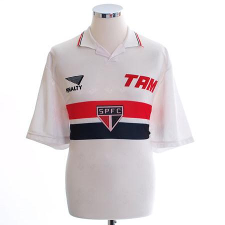 Sao Paulo 1993 Retro Home Soccer Jersey