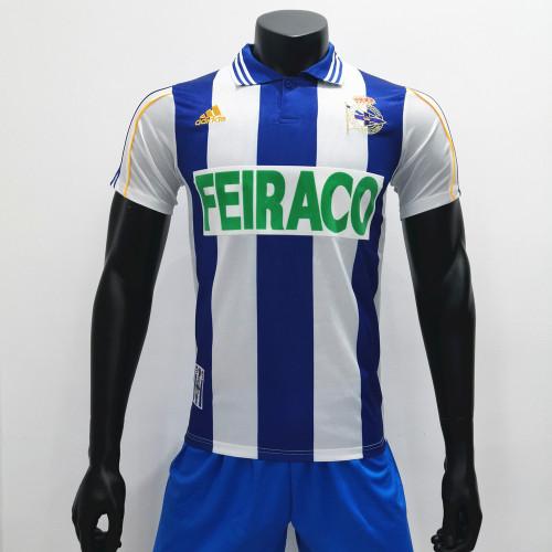 Deportivo De La Coruna 1999/2000 Home Retro Soccer Jerseys