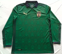 Thai Version Italy 2020 LS Third Soccer Jersey