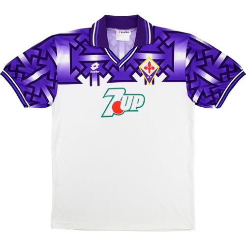 Fiorentina 1992/1993 Away Retro Soccer Jerseys