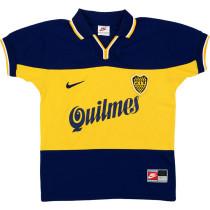 Boca Juniors 1998-99 Home Retro Soccer Jersey