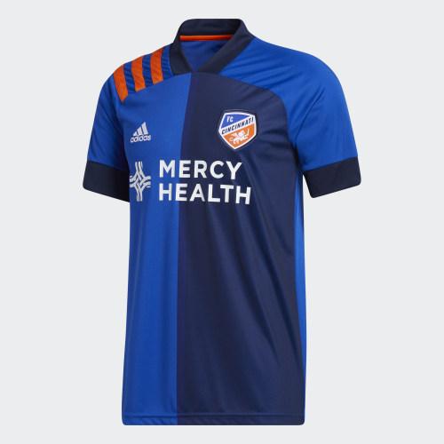 Thai Version Cincinnati 2020 Home Soccer Jersey