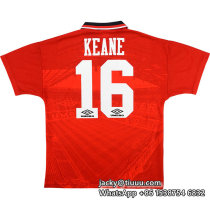 Manchester United 1994/1996 Keane Home Retro Jersey