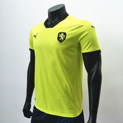 Thai Version Czech republic 2020 Away Soccer Jersey