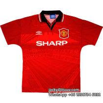 Manchester United 1994/1996 Home Retro Jersey