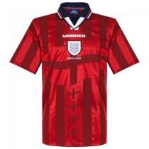 England 1998 Away Retro Soccer Jersey