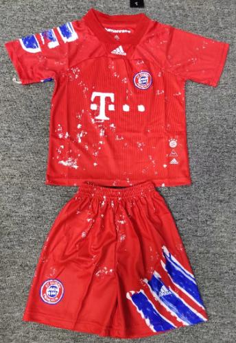 Bayern Munich 20/21 Kids Joint Edition Soccer Jersey and Short Kit