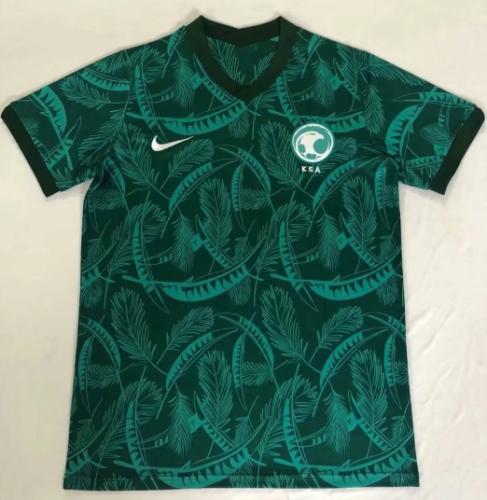 Thai Version Saudi Arabia 20/21 Away Soccer Jersey