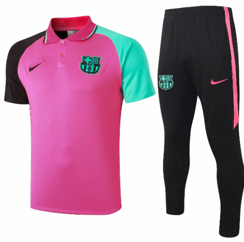 Barcelona 20/21 Training Polo and Pants - C595